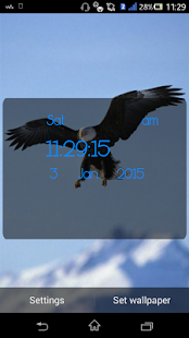 Eagle Live Wallpaper - screenshot
