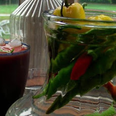 Tex Mex Pepper Vodka Infusion