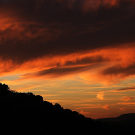 End of Day in Sedona by Gary Enloe - Landscapes Cloud Formations ( clouds, arizona, sedona )