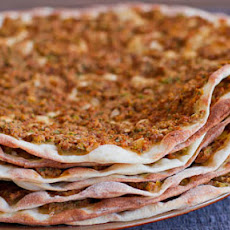 Lahmacun or Turkish Meat Pies