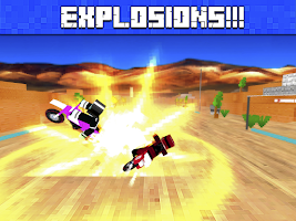 Screenshot of Dirt Bike Stunt Riders 3D