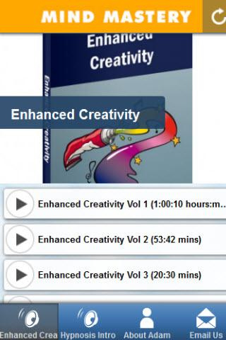 Enhanced Creativity Hypnosis