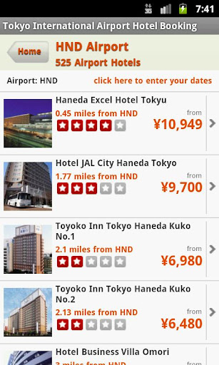 Hotels Near Tokyo Airport