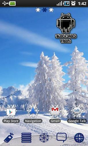 White Winter Theme