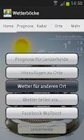 Screenshot of Wetterböcke HD