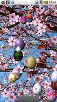 Screenshot of Easter in Bloom Live Wallpaper
