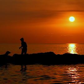 Sunset play by Ilknur Özbayındır Yusoğlu - Landscapes Sunsets & Sunrises