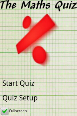 The Maths Quiz