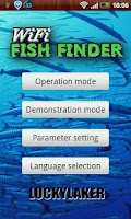 Screenshot of WIFI Fish Finder