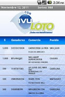 Screenshot of IVU Loto Official