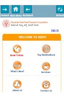 Screenshot of IRCTC and BUS Ticket Booking