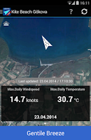 Screenshot of Gokova Wind Pro
