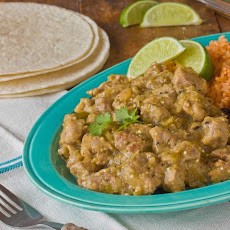 Pork Tenderloin in Tomatillo Sauce
