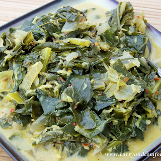 Curried Collard Greens