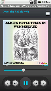 Alice's Adventures Audio Book - screenshot