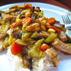 Honey Nut Pork or Chicken Stir-Fry
