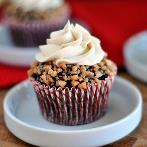 Toffee Crunch Cupcakes