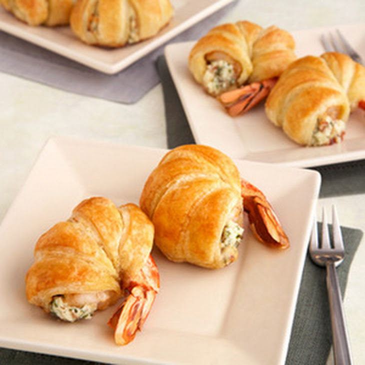 Puff Pastry-Wrapped Jumbo Shrimp