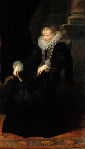 Dyck Anton van, Signora genovese