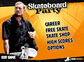 Screenshot of Mike V: Skateboard Party