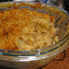 Tuna Mornay With Orange and Leek