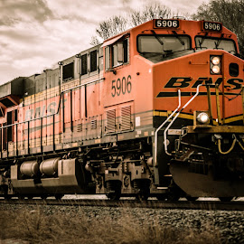 BNSF by Mark Goodman - Transportation Trains