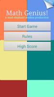 Screenshot of Math Games - Maths Genius!