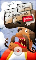 Screenshot of Kids Difference Game: Pirates