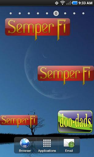Semper Fi doo-dad
