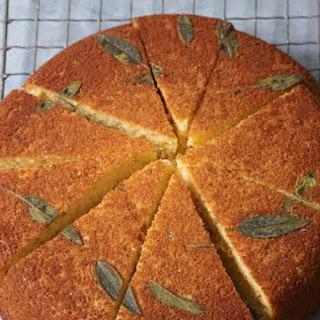 Sage and Honey Skillet Cornbread