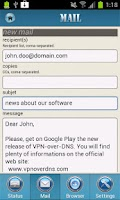 Screenshot of VPN over DNS