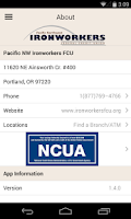 Screenshot of Pacific NW Ironworkers FCU