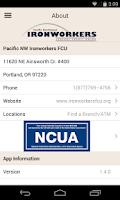 Screenshot of Pacific NW Ironworkers FCU