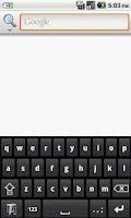 Screenshot of Textmatic Free Keyboard