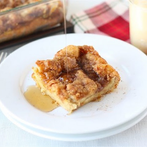 Baked Eggnog French Toast