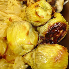 Plain Roasted Artichoke Hearts