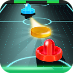 Air Hockey - Ice to Glow Age 12 Apk