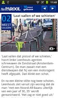 Screenshot of Het Parool Mobile