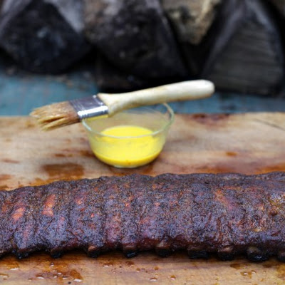 Mop-Sauced Baby Back Ribs