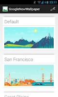 Screenshot of GoogleNowWallpaper HD