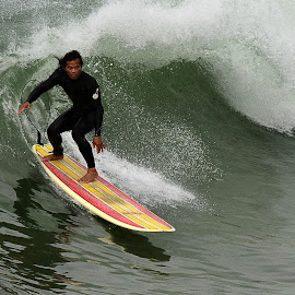 HB Surfer by Jose Matutina - Sports & Fitness Surfing ( surfing, orange county, surf, huntington beach,  )