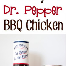 Crockpot Dr. Pepper BBQ Chicken