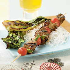 Hoisin-Glazed Beef Kebabs
