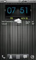 Screenshot of 3D Flip Clock Theme Pack 03
