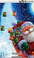 Screenshot of santa LWP