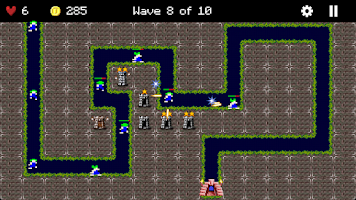 Screenshot of Lemmings Defense