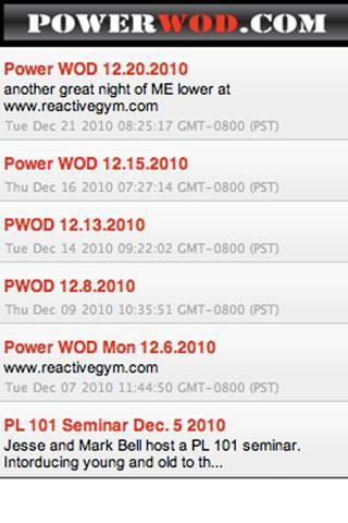 PowerWOD