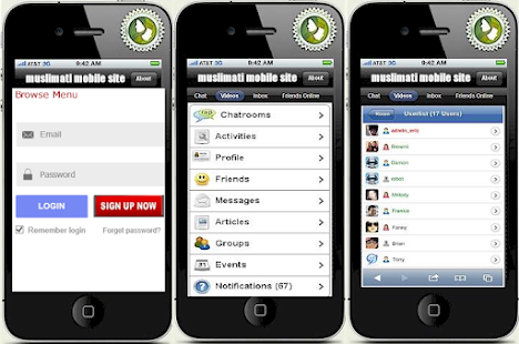 Muslimati - screenshot