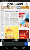 Screenshot of Karnataka Newspapers
