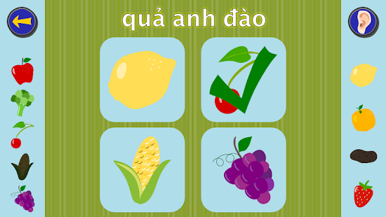 Gus Learns Vietnamese for Kids - screenshot